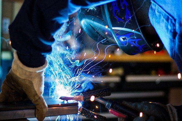 highest paying welding jobs, welder working