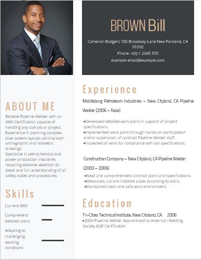 entry-level-welding-resume-example